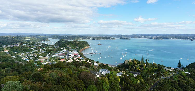 Russell Bay of Islands