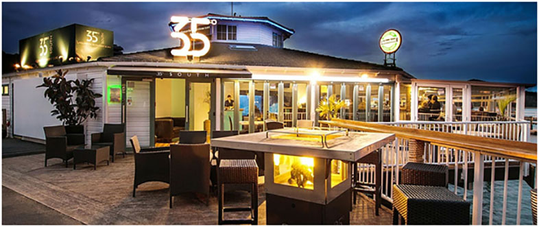 35 Degrees South Restaurant, Aquarium & Bar - Bay of Islands