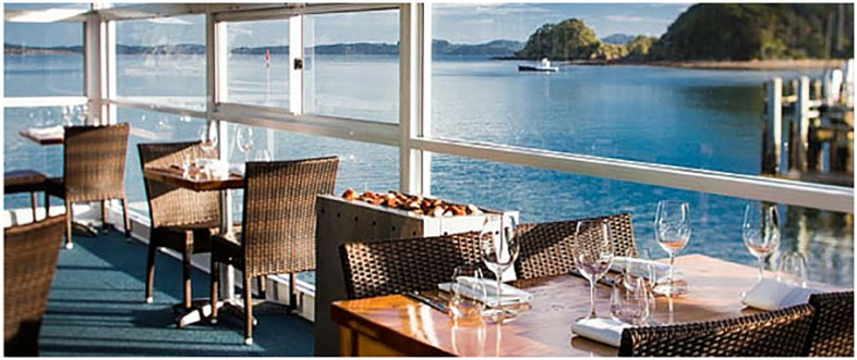 35 Degrees South Restaurant Aquarium Bar - Bay of Islands