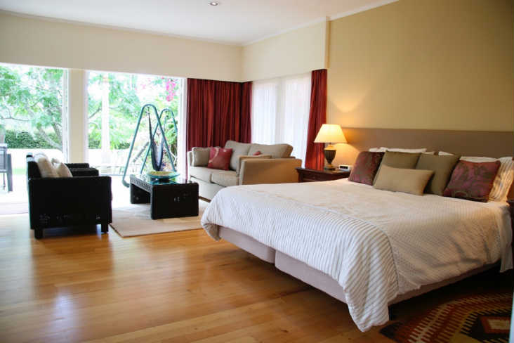 88 Lodge image Kerikeri King Size Bed