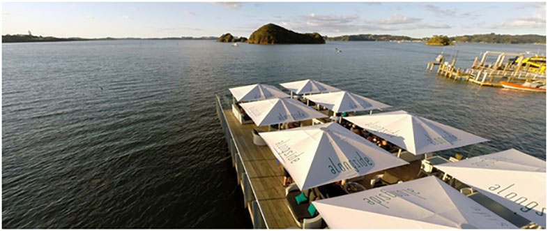 Alongside all day dining - Bay of Islands