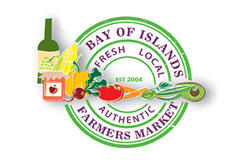 Bay of Islands Farmers Market Logo
