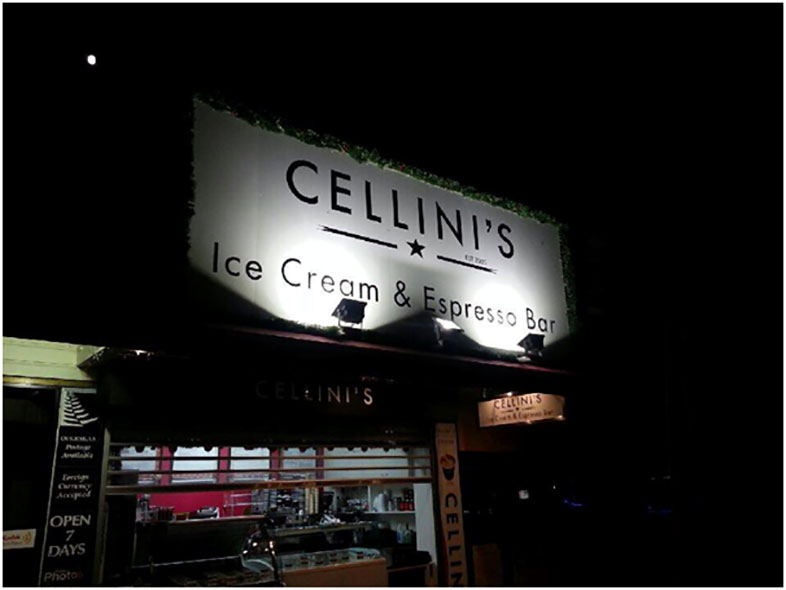 Cellini's Ice Cream & Espresso Bar - Paihia, Bay Of Islands