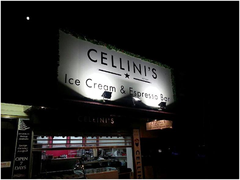 Cellini's Ice Cream & Espresso Bar - Paihia, Bay Of Islands