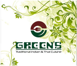 greens restaurant logo