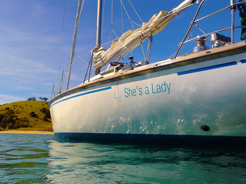 Shes a lady sailing adventure - Bay of Islands