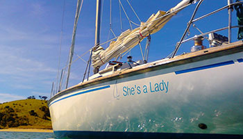 shes a lady sailing adventure