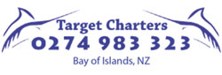 target fishing charters logo