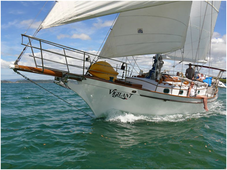 Vigilant Yacht Charters, Bay of Islands.