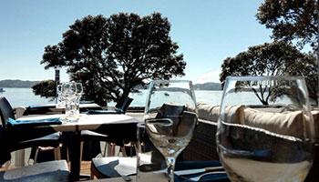 waterfront restaurant bar