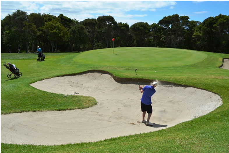 Waitangi Golf Club Bunker