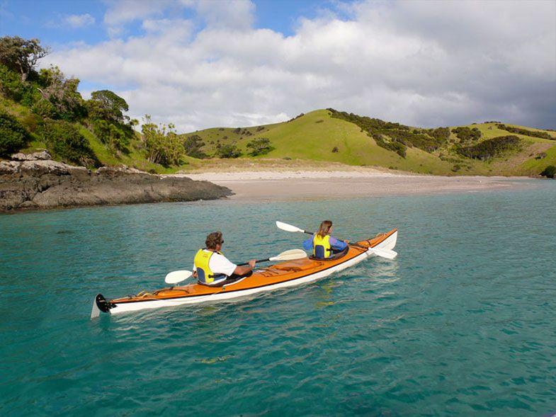 Coastal Kayakers Bay of Islands Blue water