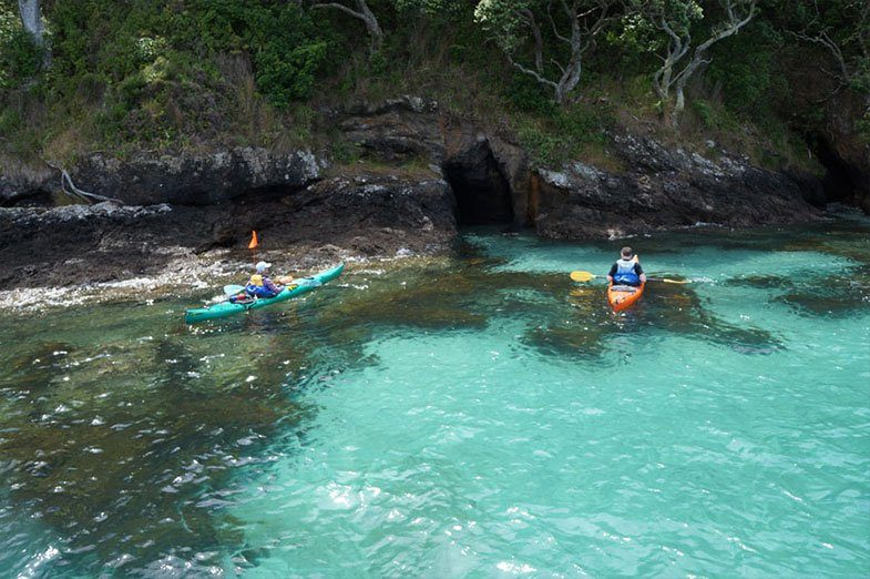 blue water kayak caves