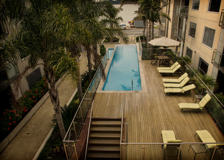 Edgewater Palms Apartments Swimming Pool - Paihia