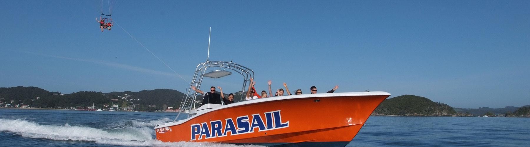 Flying Kiwi Parasailing Boat