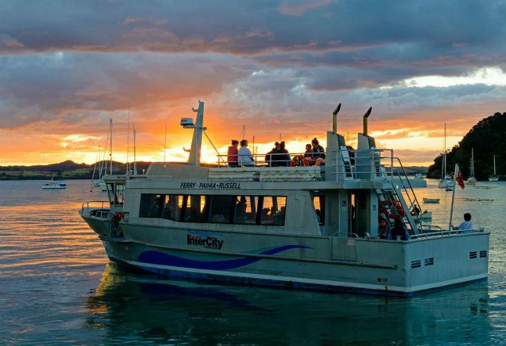 Passenger ferry to Paihia