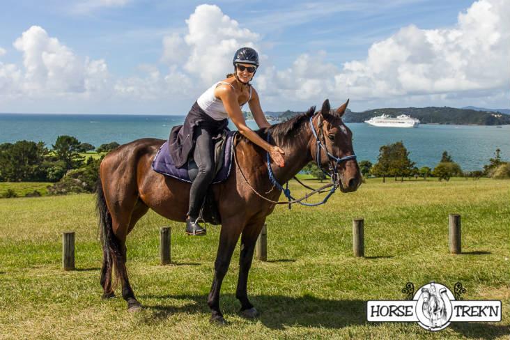 Horse Trekn NZ - Lady on horse