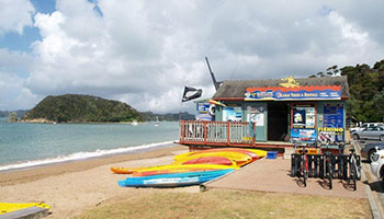 Island Kayaks Bay beach hire