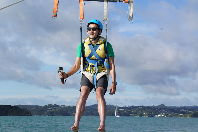 Flying Kiwi Parasail - Bay of Islands