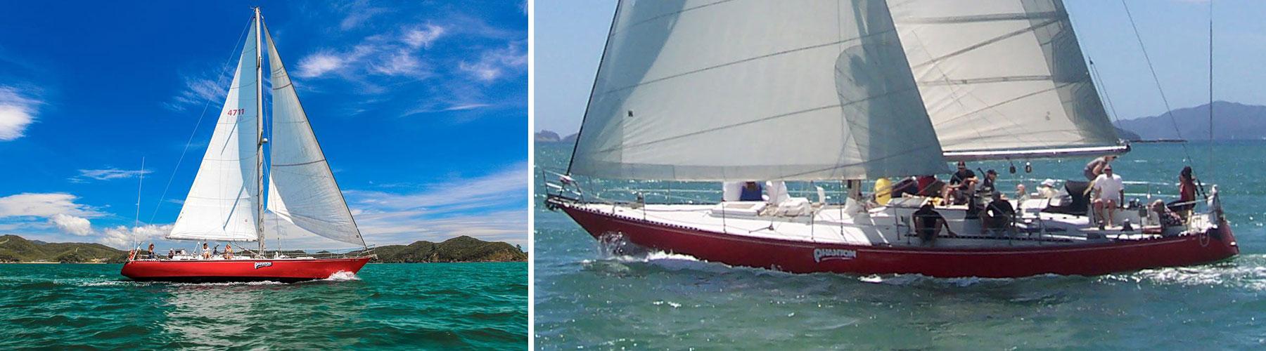 Phantom Sailing Charter Boat