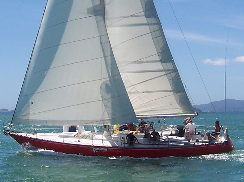Sailing Bay of Islands