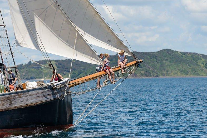 R Tucker Thompson Tall Ship Mast