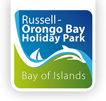 russell orongo bay holiday park logo