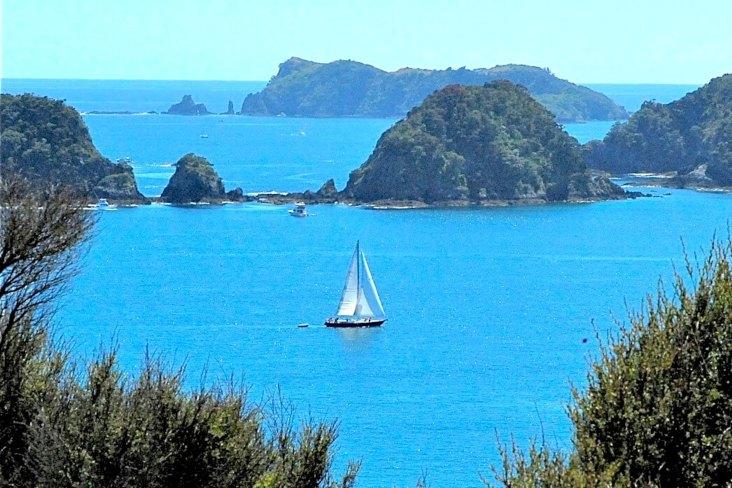 Visit Bay of Islands Boat Landscape