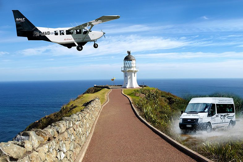 Salt air scenic flight Cape-Reinga