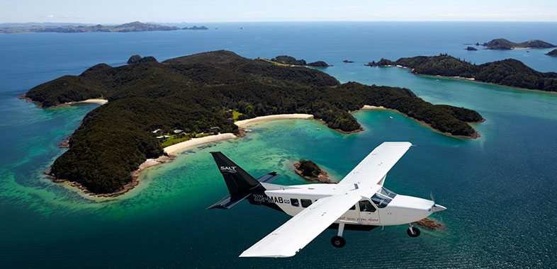 Salt air scenic flight Bay of Islands