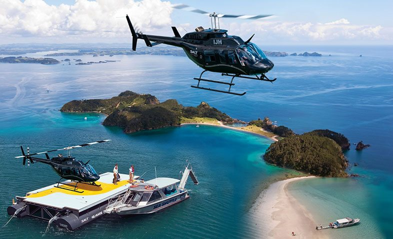 Salt air scenic flights Bay of Islands