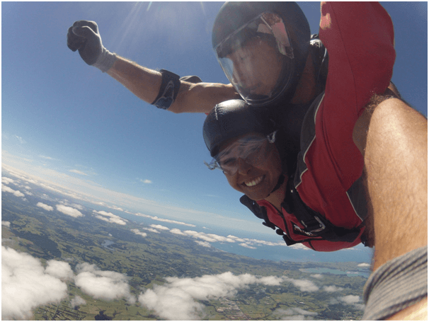 Dual Skydive Bay of Islands