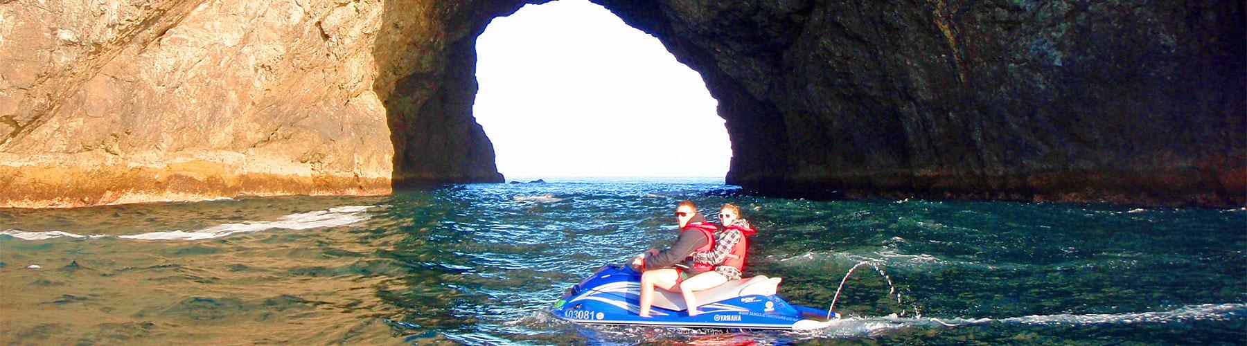 jetski Bay of Islands