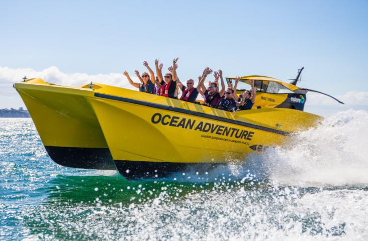 Jet Boat Ride - Ocean Adventure Tour - Image 2