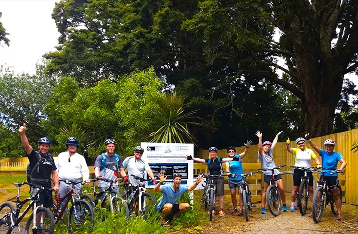 Group Travel with Paihia Mountain bikes