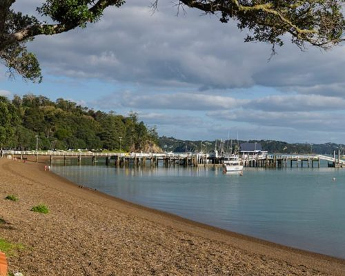russell waterfront, bay of islands