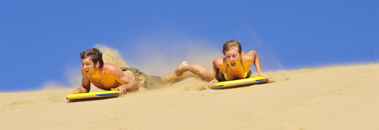 sand boarding, hokianga sand dunes