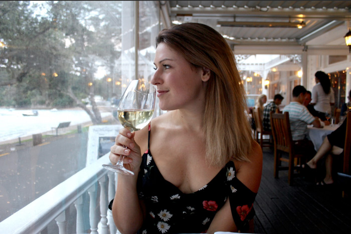 wine at the Duke, Russell, Bay of Islands