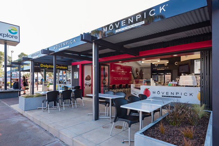 ice cream movenpick paihia