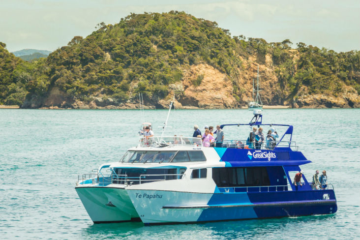 Hole in the Rock cruise, Island Stopover, Fullers GreatSights