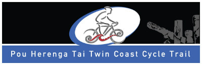 Twin Coast Cycle Logo, Bay of Islands