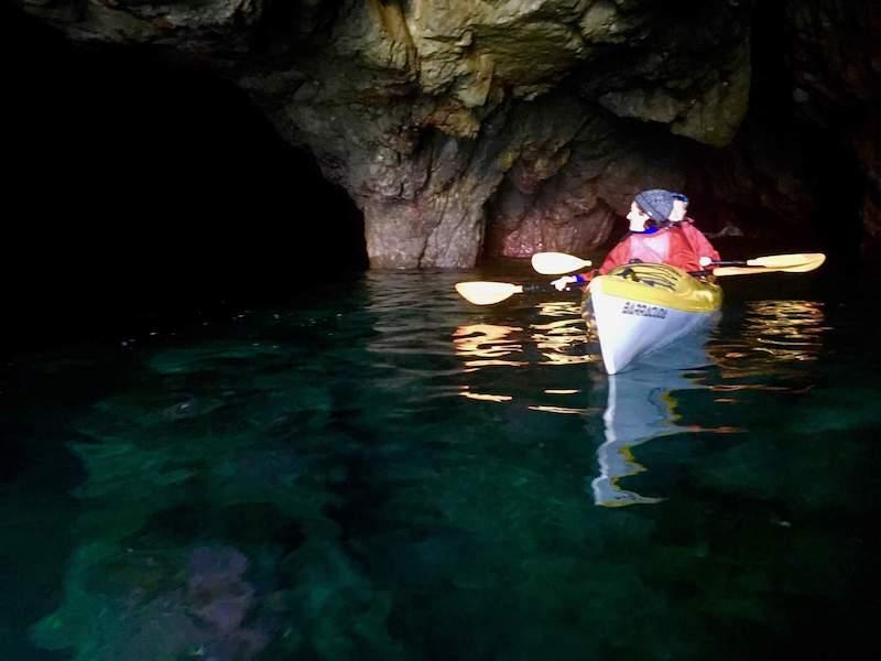 Kayak Grotte