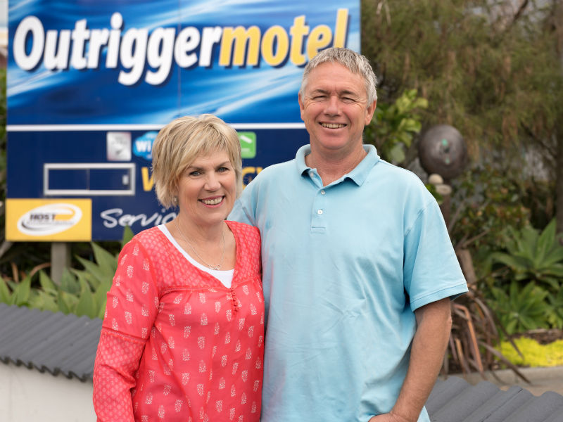Outrigger Motel, Paihia, Bay Of Islands