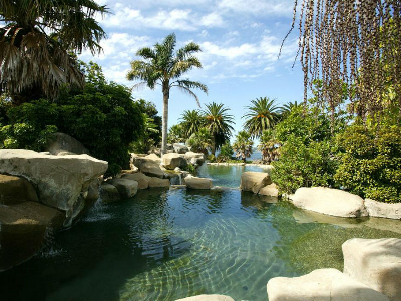 Copthorne Hotel pool, Bay of Islands