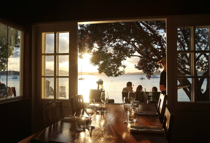 The Gables Restaurant, Bay Of Islands