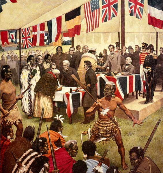 Treaty of Waitangi Signing