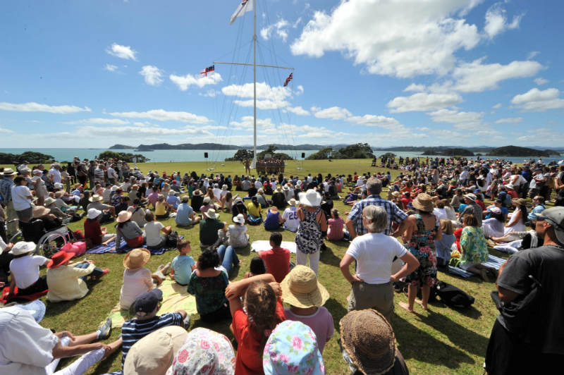 WTG Crowds at Waitangi Day