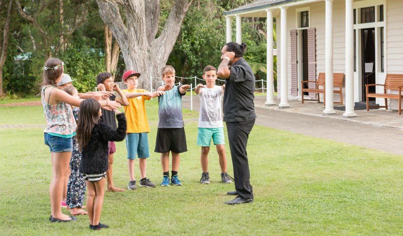 Waitangi Treaty Grounds Summer School Club
