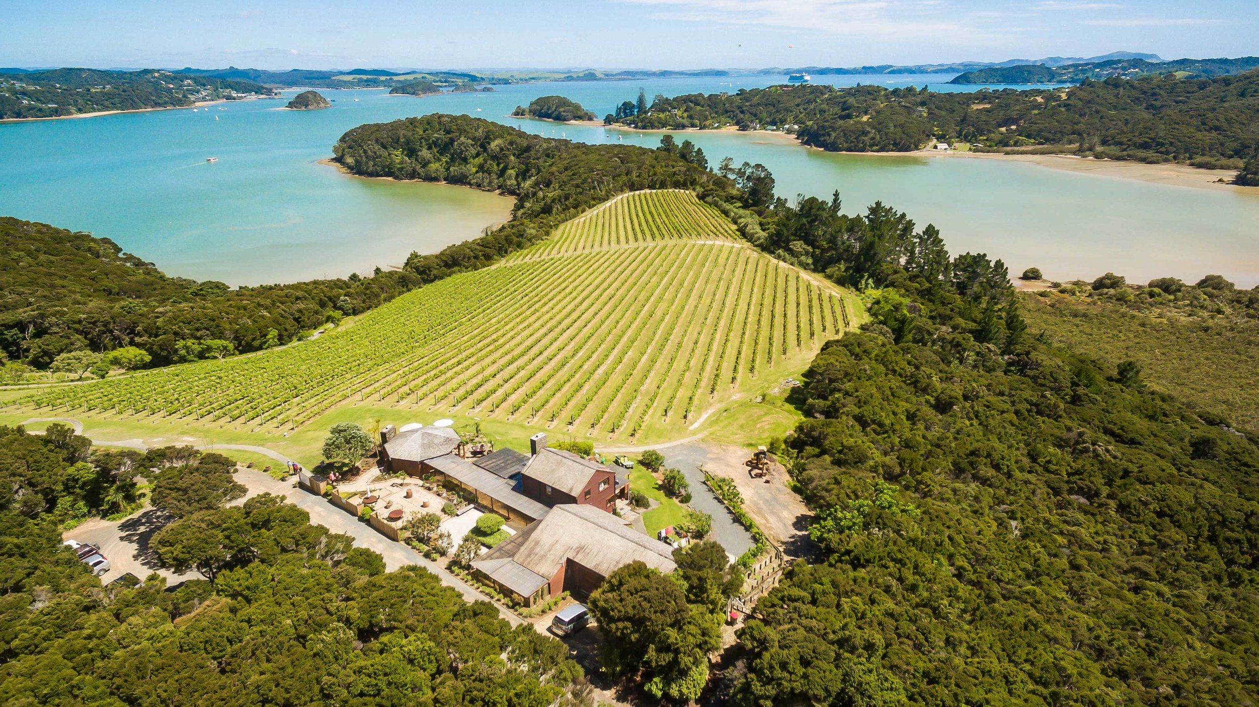 Omata-Estate, Bay of Islands