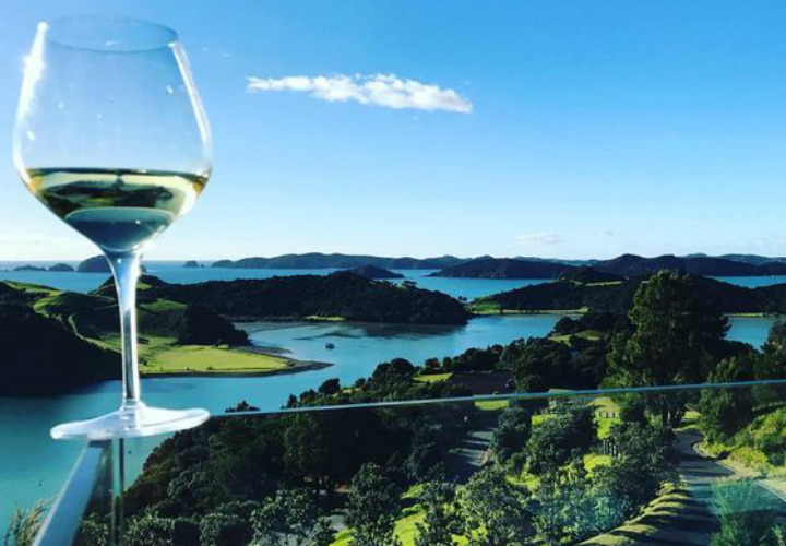 Paroa Bay winery, Bay of Islands